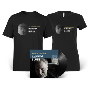 Buddha and the Blues Vinyl + Tee Bundle