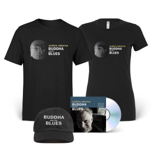 Buddha and the Blues CD + Tee + Hat Bundle