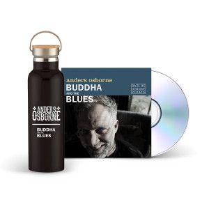 Buddha and the Blues CD + Water Bottle Bundle