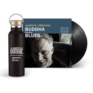 Buddha and the Blues Vinyl + Water Bottle Bundle