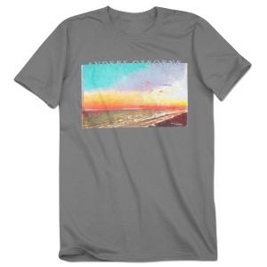 Beach Grey T Shirt