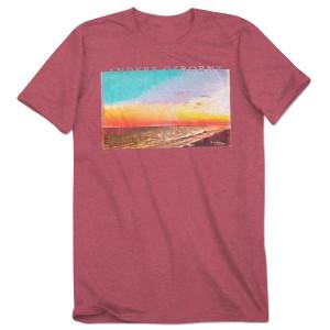 Beach Red T Shirt