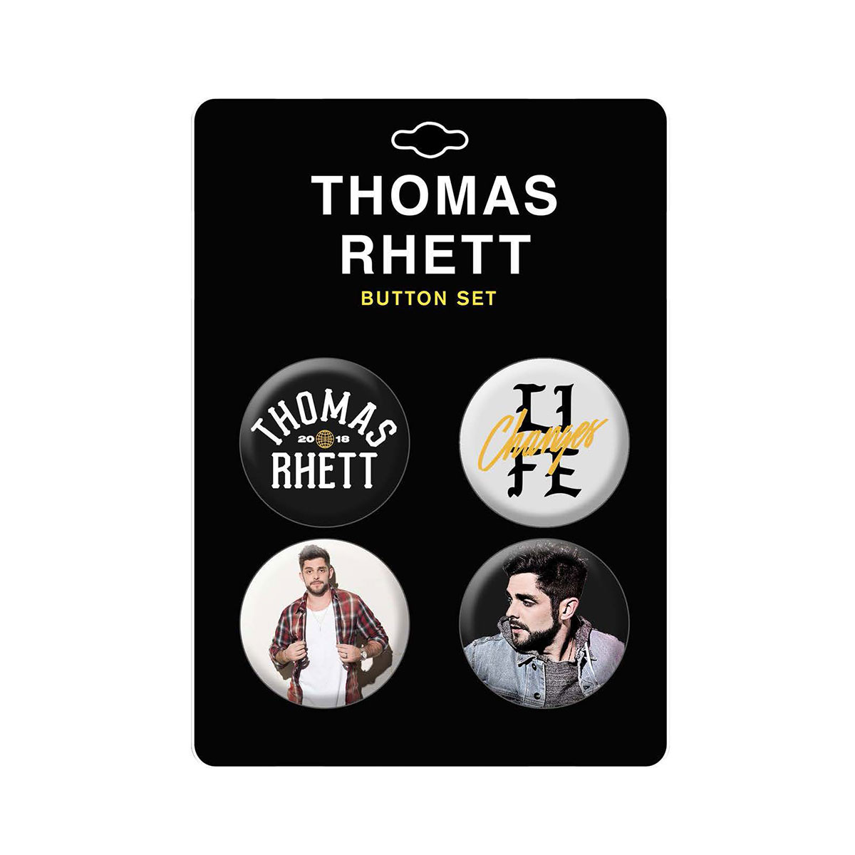 TR Life Changes Tour 4-button pack