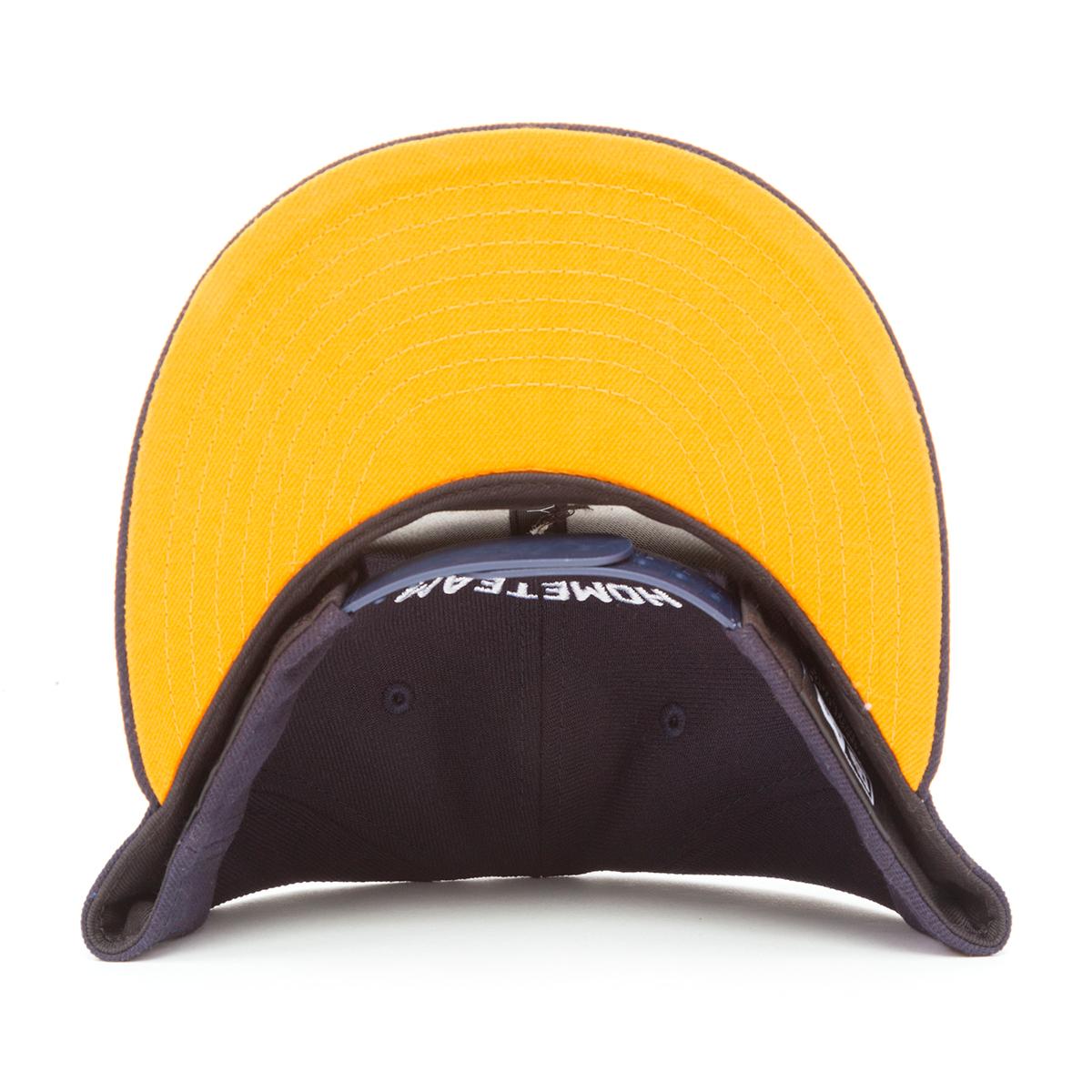 Spaceman New Era Hat Navy & Orange