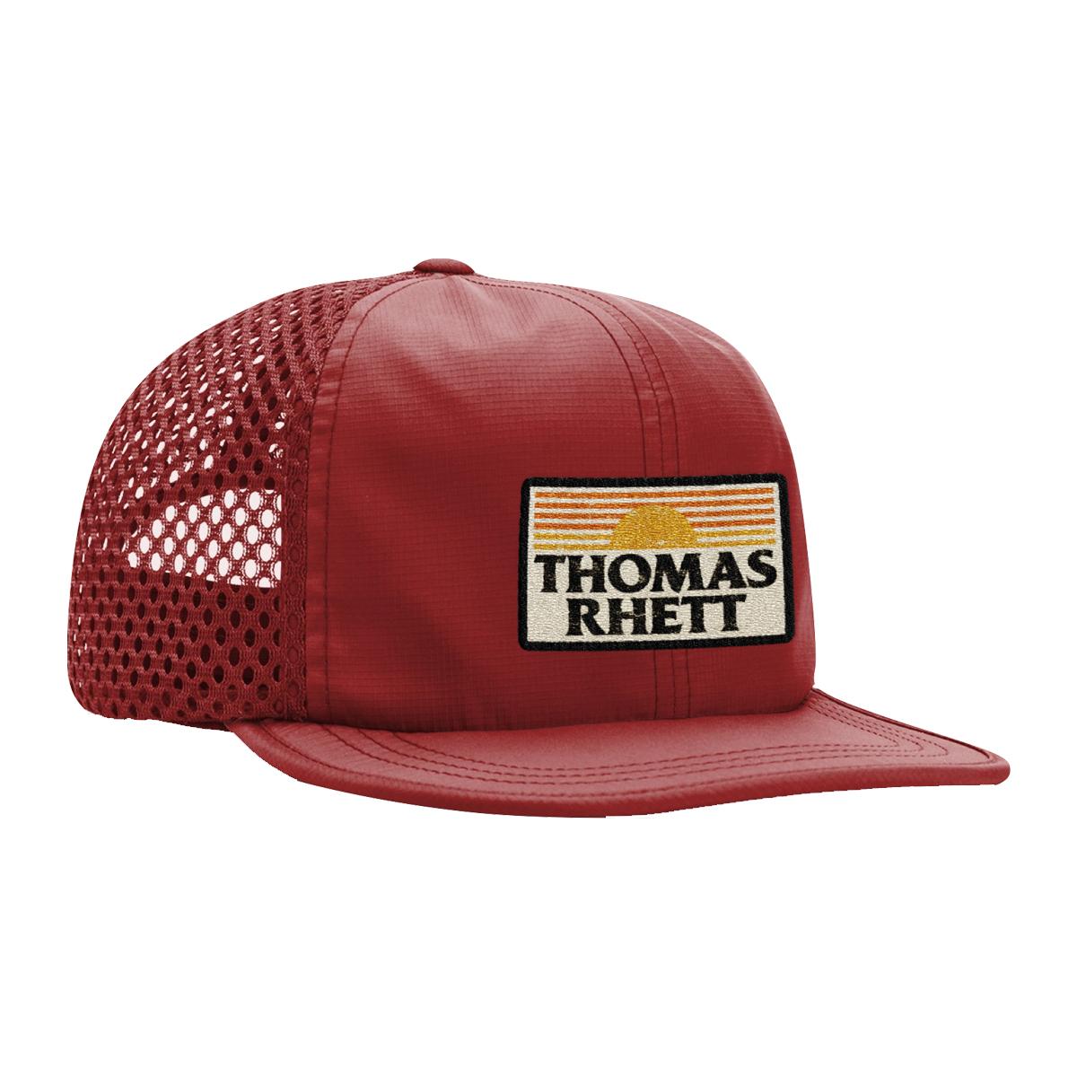 Sunset Cardinal Mesh Hat