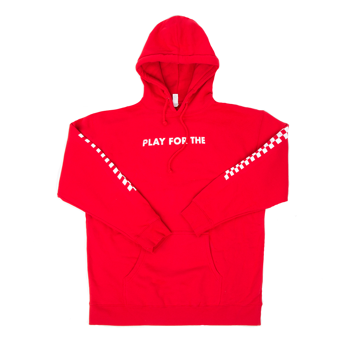Spaceman Red Pullover Hoodie