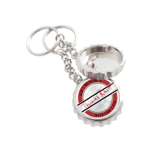Bottle Cap Opener Keychain