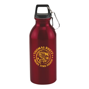 More Time Fishin' Water Bottle