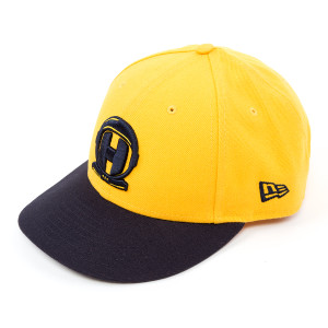 Spaceman New Era Hat Yellow & Navy