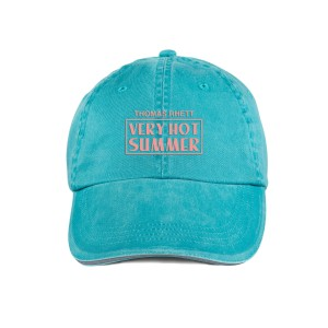 VHS Embroidered Teal Dad Hat