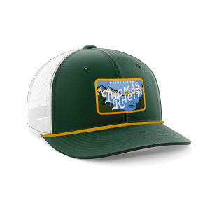 Mountain Fishing Trucker Hat