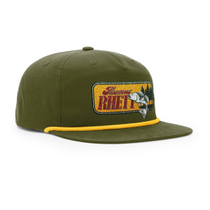 Forest Fish Logo Snapback Hat