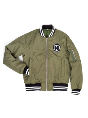 Home Team Green Bomber Jacket