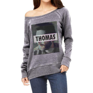 Glitchy Womens Slouchy Sweater
