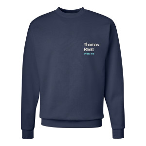 Navy VHS Dateback Fleece Crew