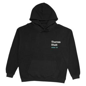 2019 Very Hot Summer Black Hoodie