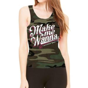 Make Me Wanna Camo Tank