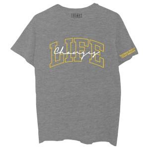 Life Changes Tour Grey T-Shirt