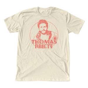 TR Illustration Vintage White T-Shirt