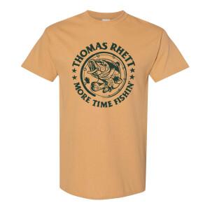 More Time Fishin' Yellow T-Shirt
