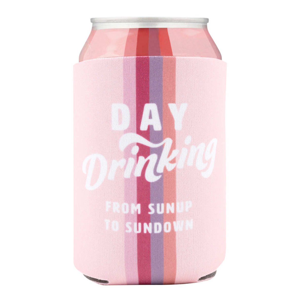 Day Drinking Can Hugger Rose Bubbles