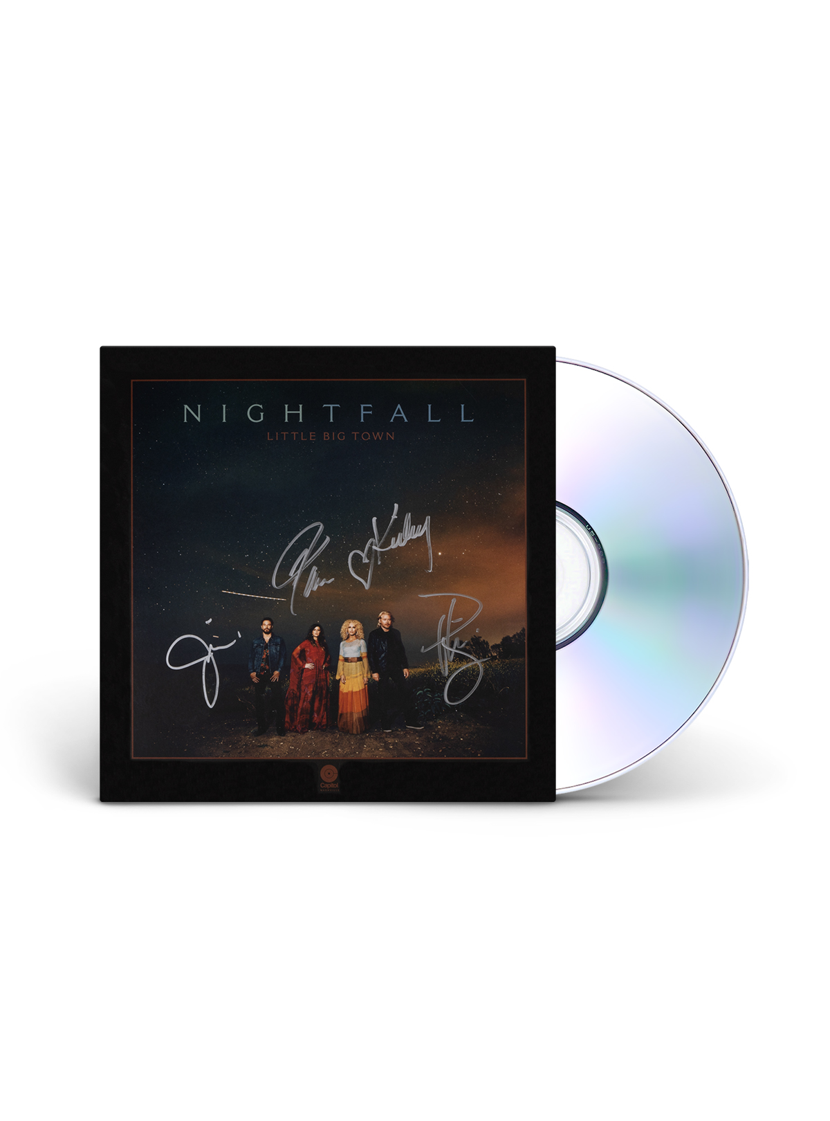 SIGNED NIGHTFALL CD