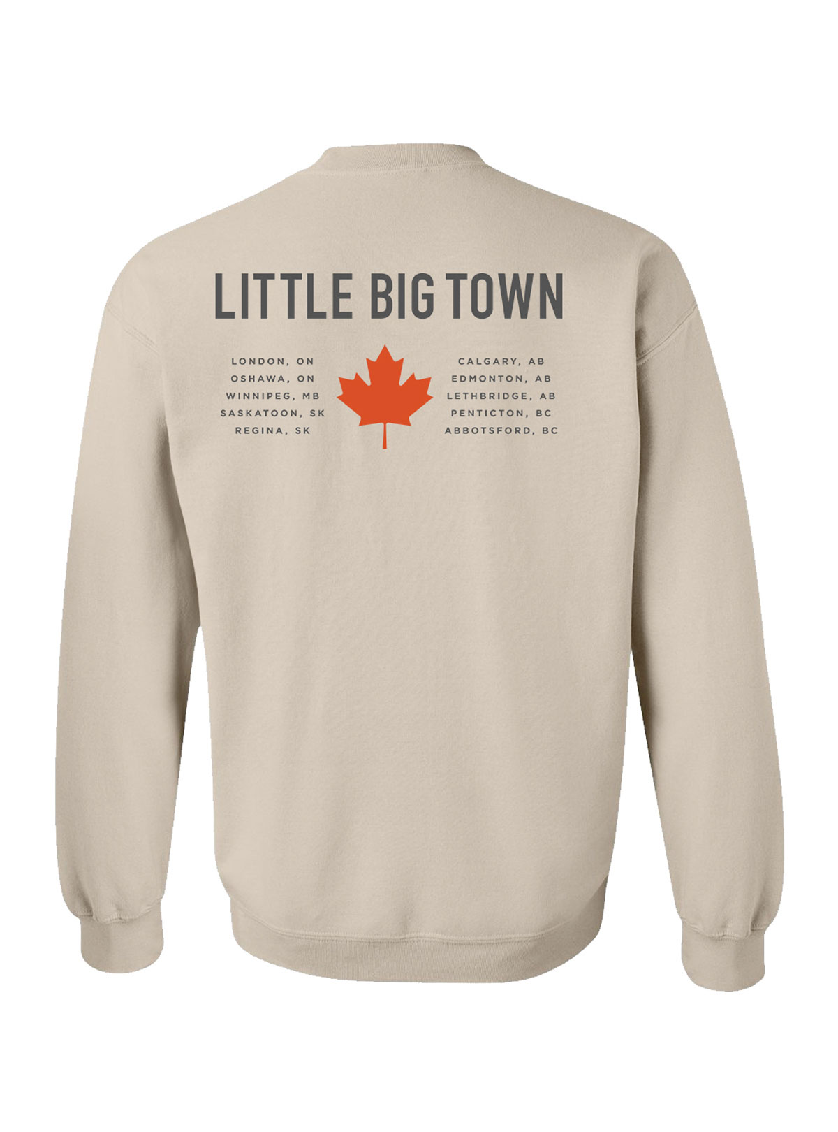Record Canada Dateback Crewneck Sweatshirt