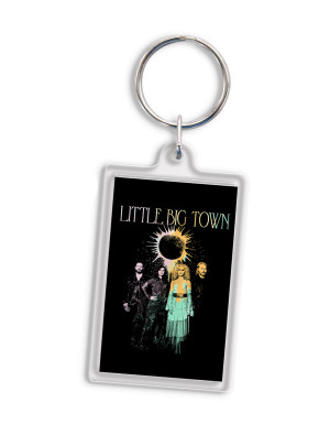 Nightfall Acrylic Photo Keychain