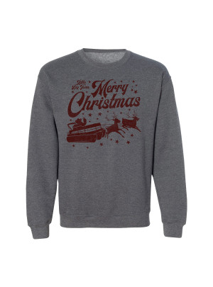 LBT Merry Christmas Crewneck Fleece