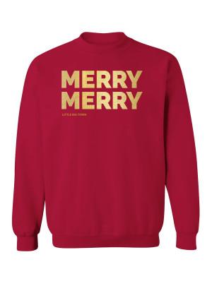 LBT Merry Merry Crewneck