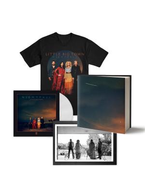 VIP Nightfall Bundle: Hardcover Photo Book, Signed & Framed Litho, T-Shirt + Vinyl
