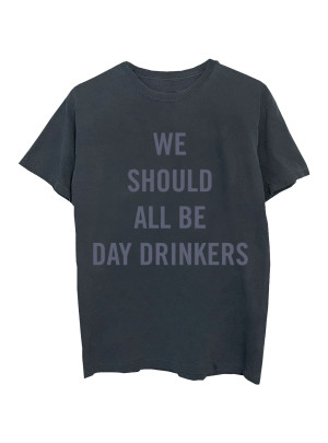 Little Big Town Day Drinker Vintage Black T-Shirt