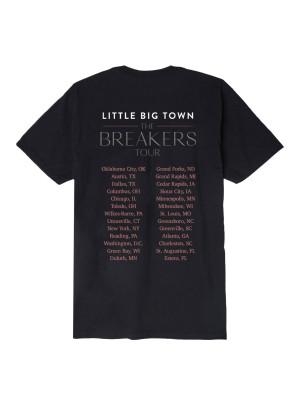 Breakers Tour Photo Date Back T-Shirt