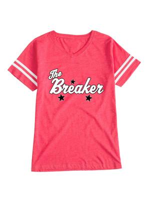 Breaker Red Varsity T-Shirt