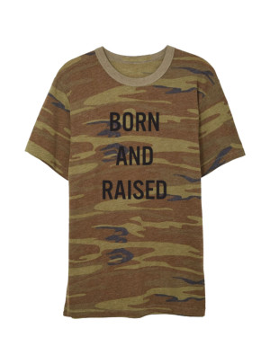 Born and Raised Camo T-Shirt