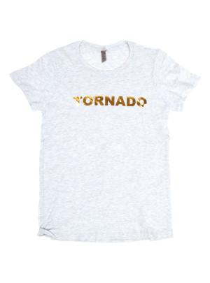 Gold Foil Tornado T-Shirt