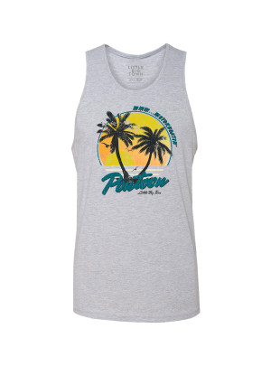 Pontoon Heather Grey Tank Top