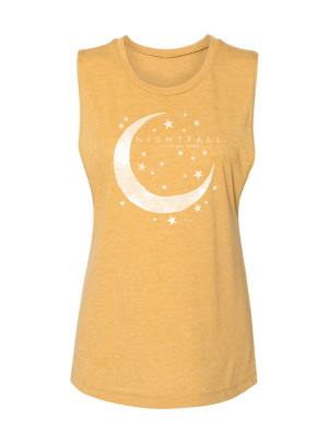 Nightfall Logo Gold Tank