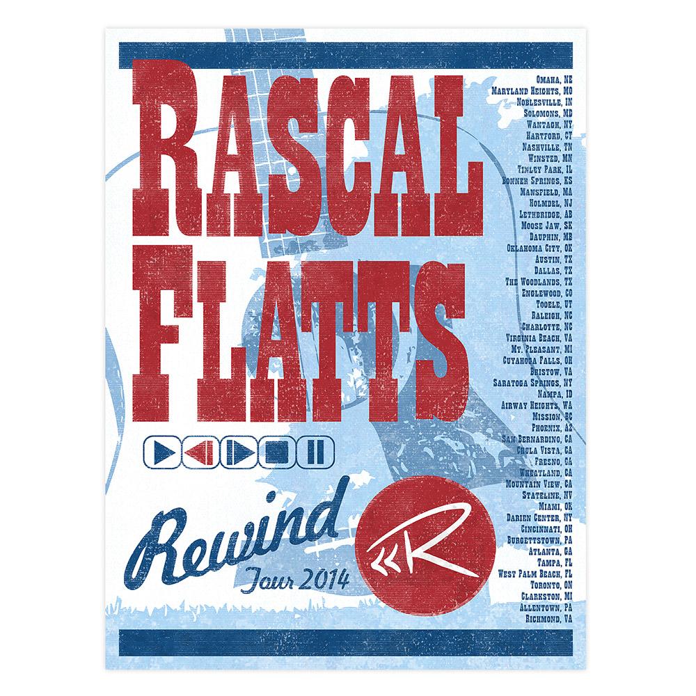 2014 Rewind Tour Poster