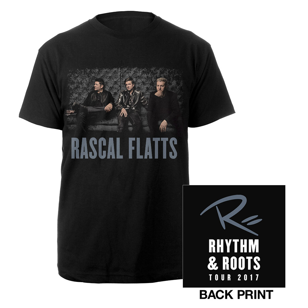 Rascal Flatts Rhythm & Roots 2017 Photo T-Shirt