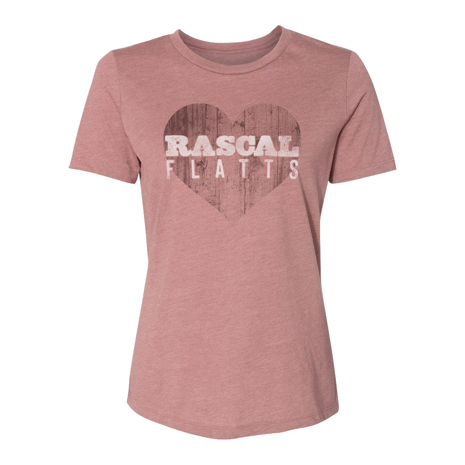 Distressed Heart Ladies T-Shirt - WEB EXCLUSIVE