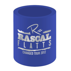 Rascal Flatts Blue Changed Tour Drink Can Hugger