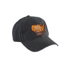 USA Map Navy Dad Hat
