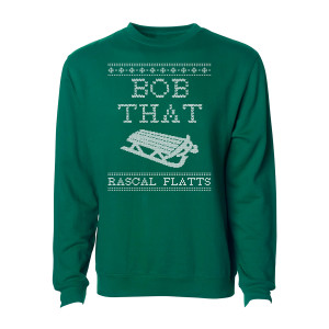 Bob That Green Holiday Crewneck