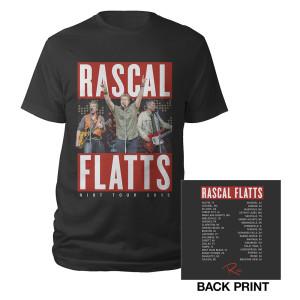 Rockin' Dateback Riot Tour 2015 T-Shirt