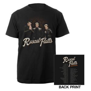 Riot Tour 2015 Black Suit Photo T-shirt