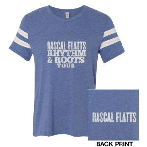 Rhythm & Roots Football T-Shirt