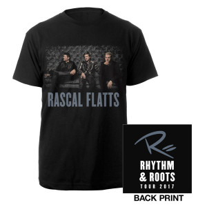 Rascal Flatts Rhythm & Roots 2017 Photo T-Shirt