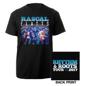 Rascal Flatts Live Rhythm & Roots T-Shirt