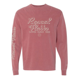 Washed Summer Playlist Tour Long Sleeve